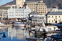 South Africa.  Cape Town Waterfront from the Victoria and Alfred Mall.