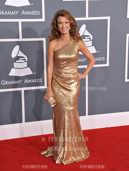 Jane Seymour at the 54th Annual Grammy Awards at the Staples Centre, Los Angeles..February 12, 2012  Los Angeles, CA.Picture: Paul Smith / Featureflash