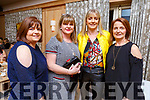 Celebrating the 150th anniversary of O'Brennan National School BBQ in the Ballygarry House Hotel on Friday night.<br /> L-r, Joanne Long, Mary Godley, Ann McElligott and Nora Curran.