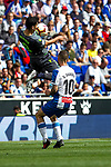 Real Sociedad's Mikel Merino and RCD Espanyol's Sergi Darder during La Liga match. May, 18th,2019. (ALTERPHOTOS/Alconada)