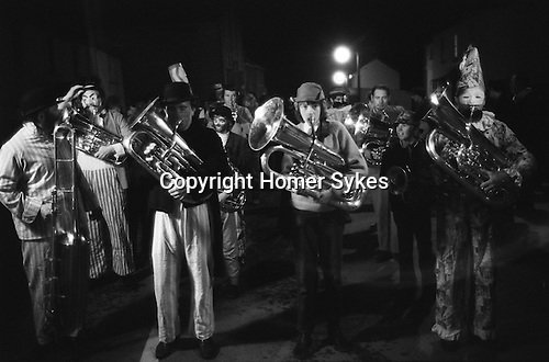 Hatherleigh Fire Festoval The Revival of the Jazz band. Devon 1973