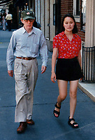 1996 <br /> Woody Allen and Soon-YI<br /> Photo By John Barrett-PHOTOlink.net/MediaPunch