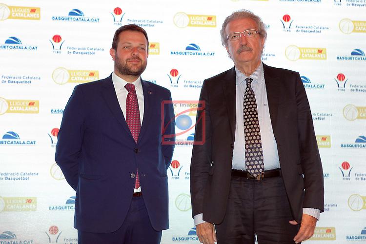 Presentacio Lligues Nacionals Catalanes 2016.<br /> Gerard Figueras &amp; Joan Fa.