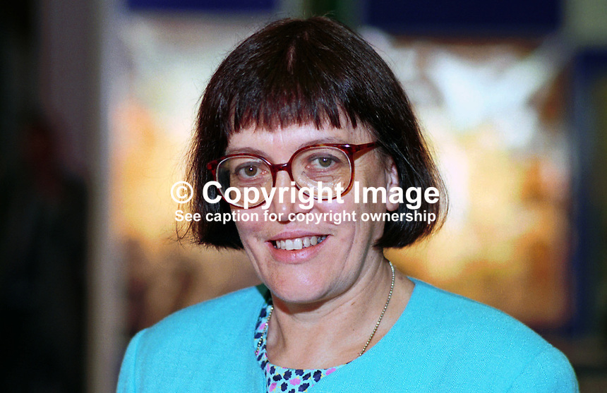 Christine Hancock, general secretary, Royal College of Nursing, Britain, UK. .Photograph taken at Labour Party Conference. Ref: 199509127..Copyright Image from Victor Patterson, 54 Dorchester Park, Belfast, UK, BT9 6RJ..Tel: +44 28 9066 1296.Mob: +44 7802 353836.Voicemail +44 20 8816 7153.Skype: victorpattersonbelfast.Email: victorpatterson@mac.com.Email: victorpatterson@ireland.com (back-up)..IMPORTANT: If you wish to use this image or any other of my images please go to www.victorpatterson.com and click on the Terms & Conditions. Then contact me by email or phone with the reference number(s) of the image(s) concerned.