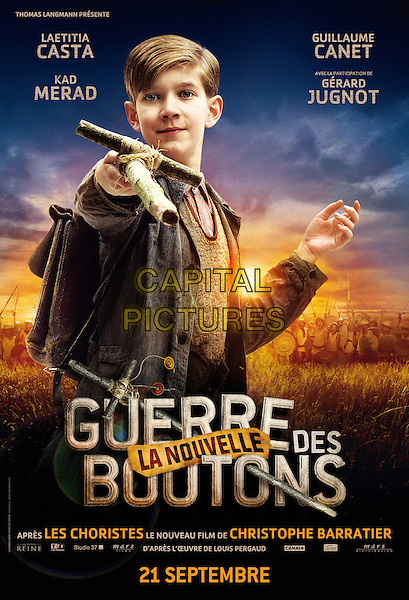 POSTER ART<br /> in War of the Buttons (2011) <br /> (La nouvelle guerre des boutons)<br /> *Filmstill - Editorial Use Only*<br /> CAP/NFS<br /> Image supplied by Capital Pictures