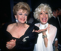Angela Landsbury Carol Channing 1982<br /> Photo By Adam Scull/PHOTOlink.net
