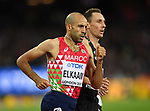 Fouad ELKAAM (MAR) in the mens 1500m semi-final. IAAF world athletics championships. London Olympic stadium. Queen Elizabeth Olympic park. Stratford. London. UK. 11/08/2017. ~ MANDATORY CREDIT Garry Bowden/SIPPA - NO UNAUTHORISED USE - +44 7837 394578