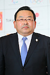 JX Seisuke Iwai, <br /> MARCH 18, 2015 : <br /> JX Nippon Oil &amp; Energy has Press conference <br /> in Tokyo. <br /> JX Nippon Oil &amp; Energy announced that <br /> it has entered into a partnership agreement with <br /> the Tokyo Organising Committee of the Olympic and Paralympic Games. <br /> With this agreement, JX Nippon Oil &amp; Energy becomes the gold partner. <br /> (Photo by YUTAKA/AFLO SPORT)