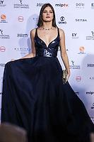 NEW YORK, NY 21.11.2016 - EMMY-2016 - Camila Queiroz durante tapete vermelho do Emmy Internacional 2016 prêmio dos melhores atores e novelas da TV, em Nova York, nos Estados Unidos na noite desta segunda-feira, 21.(Foto: Vanessa Carvalho/Brazil Photo Press)