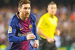 Lionel Andres Messi of FC Barcelona runs with the ball during the La Liga 2017-18 match between Valencia CF and FC Barcelona at Estadio de Mestalla on November 26 2017 in Valencia, Spain. Photo by Maria Jose Segovia Carmona / Power Sport Images