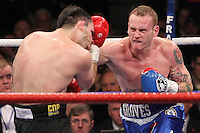 George Groves fights Paul Smith for the British Super middleweight title - 05-11-11 promoted by Frank Warren   .at Wembley Arena