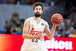 Real Madrid's player Sergio Llull during the first match of the Semi Finals of Liga Endesa Playoff at Barclaycard Center in Madrid. June 02. 2016. (ALTERPHOTOS/Borja B.Hojas)