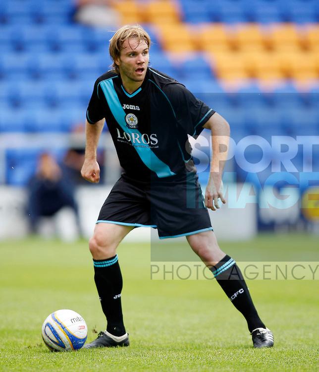 Shrewsbury v Leicester City.. Leicesters Robbie Neilson