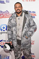 LONDON, UK. December 3, 2016: Sean Paul at the Jingle Bell Ball 2016 at the O2 Arena, Greenwich, London.<br /> Picture: Steve Vas/Featureflash/SilverHub 0208 004 5359/ 07711 972644 Editors@silverhubmedia.com
