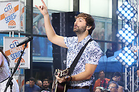 NEW YORK, NY -  JULY 6: Lady Antebellum performs on NBC's Today Show at Rockefeller Plaza in New York City on July 6, 2018. <br /> CAP/MPI/PHL<br /> &copy;PHL/MPI/Capital Pictures