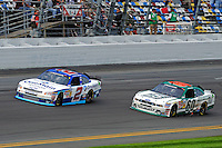 Elliott Sadler (#2) and Trevor Bayne (#60)