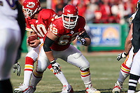 Chiefs center Casey Wiegmann in action against Baltimore at Arrowhead Stadium in Kansas City, Missouri on December 10, 2006. The Ravens won 20-10.