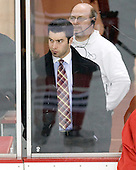 Anthony Aiello (BC - 2) - The Boston College Eagles defeated the visiting Northeastern University Huskies 7-1 on Friday, March 9, 2007, to win their Hockey East quarterfinals matchup in two games at Conte Forum in Chestnut Hill, Massachusetts.