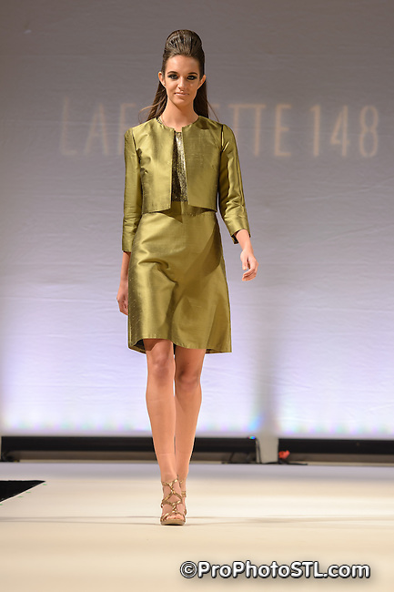 Lafayette 148 from New York fashion show at Variety of Children St. Louis Charity luncheon at Chase Park Plaza Hotel in St. Louis, MO on April 20, 2013.