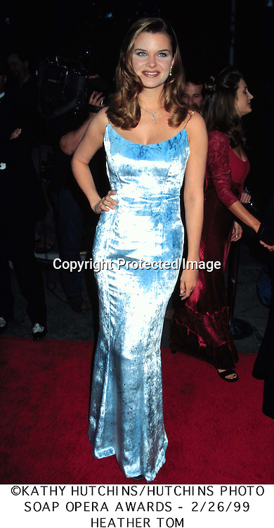 ©1999  KATHY HUTCHINS / HUTCHINS PHOTO..Soap Opera Awards 2/26/99
