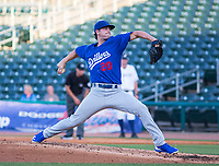 Tulsa Drillers vs NWA Naturals -  Andrew Sopko of the Drillers was the starting pitcher against the Naturals at Arvest Ballpark, Springdale, AR, Thursday, July 13, 2017,  © 2017 David Beach