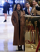Attorney Sheri Dillon stands near the elevators at Trump Tower on January 11, 2017 in New York City. U.S. President Elect Donald Trump is still holding meetings upstairs at Trump Tower as he continues to fill in key positions in his new administration.        <br /> Credit: John Angelillo / Pool via CNP