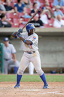 June 8, 2009: Josh Harrison (1) of the Peoria Chiefs at Elfstrom Stadium in Geneva, IL..  Photo by: Chris Proctor/Four Seam Images
