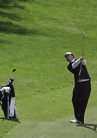 20 May, 2010:  Loyola Universities Alex Redfearn chips his shot hole nine of the NCAA Division I Regionals tournament Thursday at Gold Mountain Golf Course in Bremerton, WA.