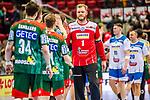 Enttaeuscht: Johannes Bitter (TVB Stuttgart #1) beim Spiel in der Handball Bundesliga, TVB 1898 Stuttgart - SC Magdeburg.<br /> <br /> Foto © PIX-Sportfotos *** Foto ist honorarpflichtig! *** Auf Anfrage in hoeherer Qualitaet/Aufloesung. Belegexemplar erbeten. Veroeffentlichung ausschliesslich fuer journalistisch-publizistische Zwecke. For editorial use only.
