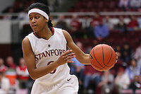 STANFORD, CA - JANUARY 29:  Melanie Murphy of the Stanford Cardinal during Stanford's 81-53 win over the USC Trojans on January 29, 2009 at Maples Pavilion in Stanford, California.