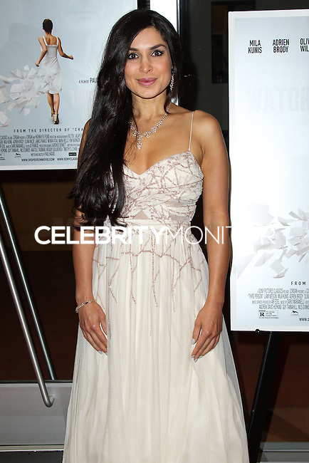 HOLLYWOOD, LOS ANGELES, CA, USA - JUNE 09: Saye Yabandeh at the Los Angeles Premiere Of Sony Pictures Classics' 'Third Person' held at the Linwood Dunn Theater at the Pickford Center for Motion Study - Academy of Motion Picture Arts and Sciences on June 9, 2014 in Hollywood, Los Angeles, California, United States. (Photo by Xavier Collin/Celebrity Monitor)