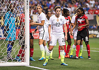 San Antonio, TX - December 10, 2015:  The USWNT defeated Trinidad & Tobago 6-0 during the Victory Tour at the Alamodome.
