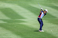 Soomin Lee (KOR) in action during the third round of the Volvo China Open played at Topwin Golf and Country Club, Huairou, Beijing, China 26-29 April 2018.<br /> 28/04/2018.<br /> Picture: Golffile | Phil Inglis<br /> <br /> <br /> All photo usage must carry mandatory copyright credit (&copy; Golffile | Phil Inglis)