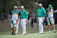 Paul Dunne (IRL) and Shane Lowry (IRL) during the final round of the World Cup of golf,  The Metropolitan Golf Club, The Metropolitan Golf Club, Victoria, Australia. 25/11/2018<br /> Picture: Golffile | Anthony Powter<br /> <br /> <br /> All photo usage must carry mandatory copyright credit (&copy; Golffile | Anthony Powter)