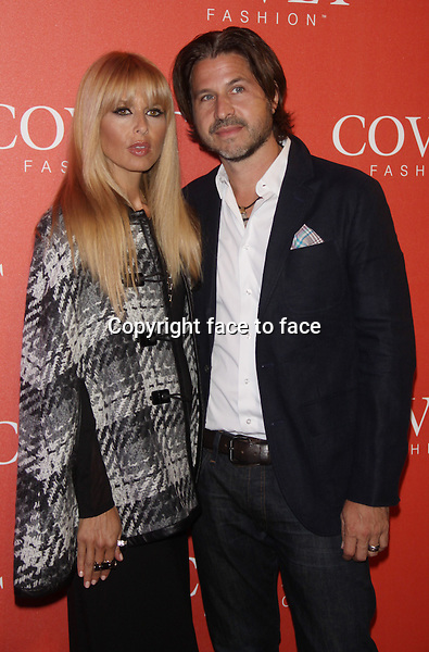 NEW YORK, NY - AUGUST 27: Rachel Zoe and Rodger Berman at the launch of COVET Fashion at 82 Mercer in New York City. August 27, 2013. Credit: RW/MediaPunch Inc.<br />