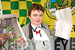 SONG: Betty Browne from Ballyheigue who has penned a song for the Kerry team as they bid for three in a row All Ireland Senior football titles.    Copyright Kerry's Eye 2008
