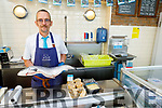 Eugene Fitzgerald of Quinlans Fish shop in Tralee on Tuesday.