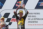 Gran Premio Red Bull de la República Argentina.<br /> 25/27/04/2014<br /> Moto 2 RACES<br /> 53 tito rabat<br /> Photo RM /photocall3000