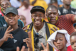 05.01.2019, FNB Stadion/Soccer City, Nasrec, Johannesburg, RSA, Premier League, Kaizer Chiefs vs Mamelodi Sundwons<br /> <br /> im Bild / picture shows <br /> <br /> Fans, bunt, Farbe, geschminkt, Stimmung, Stadion, Verkleidung, <br /> <br /> Foto © nordphoto / Ewert