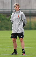 20200627 - TUBIZE , Belgium : Assistant coach Aline Zeler is pictured during a training session of the Belgian Red Flames U19, on the 27 th of June 2020 in Tubize.  PHOTO SEVIL OKTEM| SPORTPIX.BE