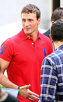 August 23, 2012: Ryan Lochte on the set of Access Hollywood in New York City. © RW/MediaPunch Inc. /NortePhoto.com<br />