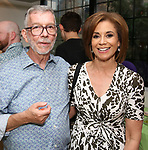 Sam Rudy and Dana Tyler attend the Retirement Celebration for Sam Rudy at Rosie's Theater Kids on July 17, 2019 in New York City.