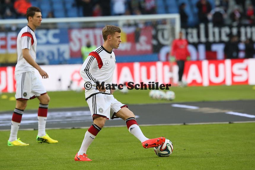 Max Meyer (D) - Deutschland vs. Polen, WM-Vorbereitung Testspiel, Imtech Arena Hamburg