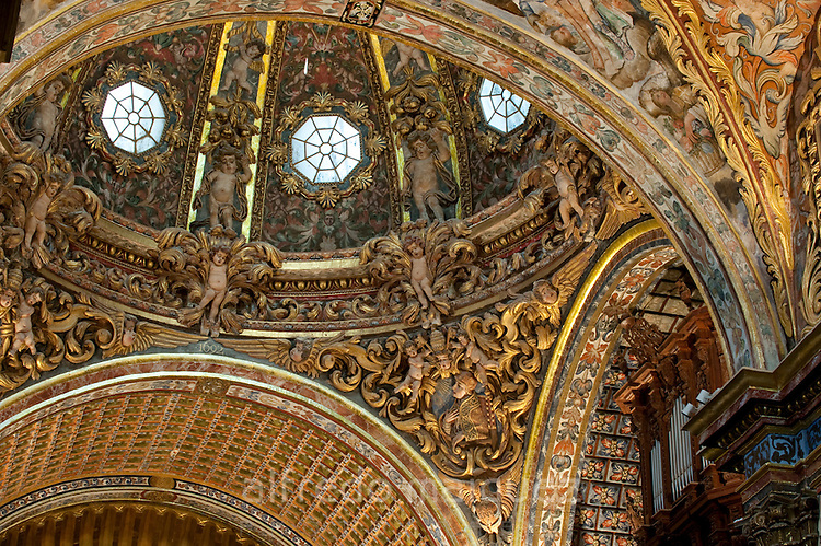 Dome of the Santo Domingo church, Orihuela. Alicante province, Comunidad Valenciana, Spain