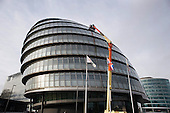City Hall, which houses the Greater London Authority and the Mayor's office.