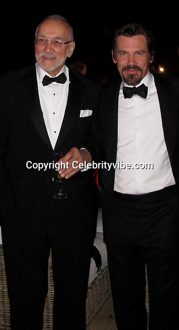 **EXCLUSIVE**.Frank Langella and Josh Brolin..Wall Street: Money Never Sleeps Premiere Post Party - Inside..Cannes Film Festival..Villa in La Californie..Cannes, France..Friday, May 14, 2010..Photo By CelebrityVibe.com.To license this image please call (212) 410 5354; or Email: CelebrityVibe@gmail.com ; .website: www.CelebrityVibe.com.