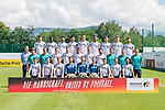 05.06.2018, Sportzone Rungg / Eppan, Eppan, ITA, offizielles Mannschaftsfoto DFB A-Nationalteam / Nationalmannschaft<br /> <br /> im Bild<br /> offizielles Mannschaftsfoto der Deutschen Fussball-Nationalmannschaft Herren, DFB, mit Germany Candidate for UEFA EURO 2024 Bande, <br /> <br /> (vlnr)<br /> Obere Reihe:<br /> Mario Gomez (Deutschland / GER #23), Antonio R&uuml;diger / Ruediger (Deutschland / GER #16), Sami Khedira (Deutschland / GER #06), Mats Hummels (Deutschland / GER #05), Niclas S&uuml;le / Suele (Deutschland / GER #15), Jerome / J&eacute;r&ocirc;me Boateng (Deutschland / GER #17), Leon Goretzka (Deutschland / GER #14), Matthias Ginter (Deutschland / GER #04), Jonas Hector (Deutschland / GER #03), <br /> <br /> Mittelere Reihe:<br /> Dietrich, Oliver Bierhoff (Manager der Nationalmannschaft Deutschland / GER), Joachim L&ouml;w / Loew (Bundestrainer / Head Coach Deutschland / GER), Thomas Schneider (Assistenztrainer / Co-Trainer / Assistant Coach Deutschland / GER), Toni Kroos (Deutschland / GER #8), Julian Draxler (Deutschland / GER #07), Thomas M&uuml;ller / Mueller (Deutschland / GER #13), Julian Brandt (Deutschland / GER #20), Marvin Plattenhardt (Deutschland / GER #02), Marcus Sorg (Assistenztrainer / Co-Trainer / Assistant Coach Deutschland / GER), Andreas K&ouml;pke / Koepke (Torwart-Trainer / Goalkeeper Coach Deutschland / GER), <br /> <br /> Untere Reihe: <br /> Sebastian Rudy (Deutschland / GER #19), Marco Reus (Deutschland / GER #11), Timo Werner (Deutschland / GER #09), Kevin Trapp (Deutschland / GER #12), Manuel Neuer (Deutschland / GER #01), Marc-Andre / Marc-Andr&eacute; ter Stegen (Deutschland / GER #22), Mesut &Ouml;zil / Oezil (Deutschland / GER #10), Joshua Kimmich (Deutschland / GER #18), İlkay G&uuml;ndoğan / Guendogan (Deutschland / GER #21), <br /> <br /> Foto &copy; nordphoto / Ewert