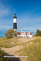 64795-01009 Big Sable Point Lighthouse on Lake Michigan, Mason County, Ludington, MI