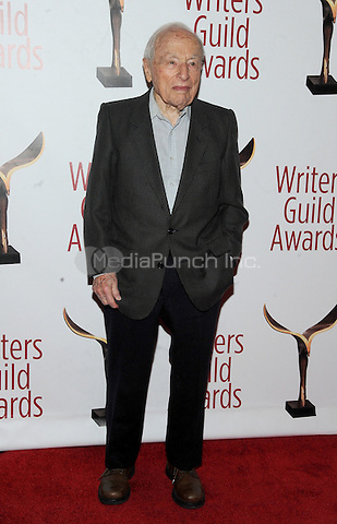 NEW YORK, NY - FEBRUARY 19:  Walter Bernstein attends the 69th Annual Writers Guild Awards New York ceremony at Edison Ballroom on February 19, 2017 in New York City. Photo by: John Palmer/ MediaPunch