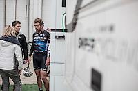 Sander Cordeel (BEL/Veranda's Willems-Crelan) post-race<br /> <br /> 72nd Omloop Het Nieuwsblad 2017
